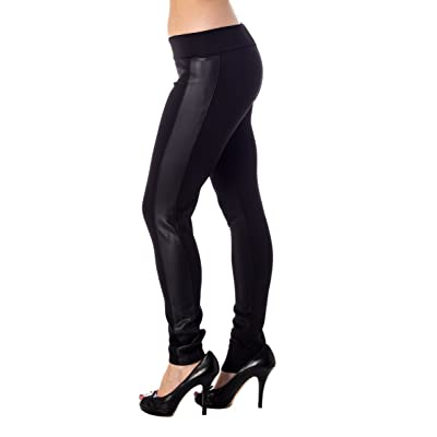 Alki'i Women's Fashionable Scuba Leggings at Women's Clothing store