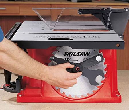 SKIL 3400 08 15 Amp 10 Inch Table Saw With Stand   Power Table Saws    Amazon.com