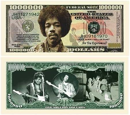 Statue of Liberty Million Dollar Bill Notes Set of 100