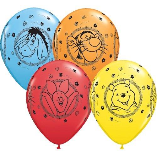 10 Luftballons Winnie Pooh 26cm Partyklar