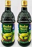 Bula NONI®Juice 100% Pure Certified Organic 2PK Case. (Two 1 Liter Bottles per case) Today's Deal. Nature's Super Food Juice.