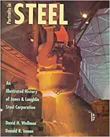 "J/&L Jones /& Laughlin Steel Corp Ad  10/"" X 7/"" Reproduction Metal Sign Z51"