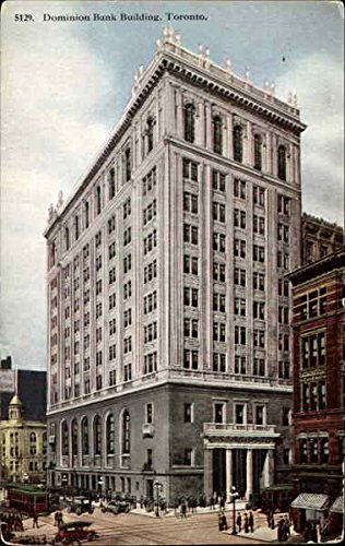 dominion-bank-building-toronto-ontario-canada-original-vintage-postcard