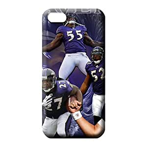 iphone 5c Hybrid Awesome series phone cover case baltimore ravens
