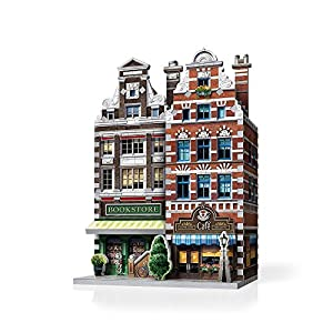 Wrebbit W3d 503 Puzzle 3d Urbania Cafe 285 Pezzi