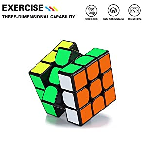 Dreampark Speed Cube Bundle 2x2 3x3 Megaminx Mirror Cube Puzzle Toys for Kids and Adults