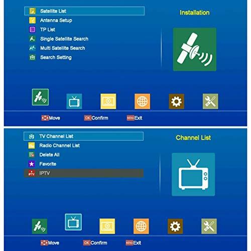 Chiak V8 NOVA DVB S2 Satellite Receiver Decoder Digital TV