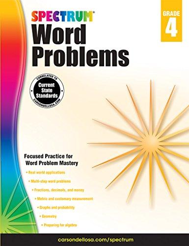 Word Problems , Grade 4 (Spectrum)
