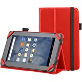 "AmazonBasics Kindle Fire Standing Case,7"" (2015 Model), Red"