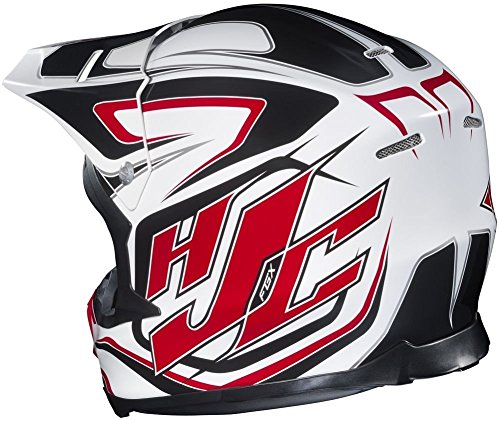 Amazon.com: HJC FG-X Hammer Off-Road Helmet (Black/Gray/White, XX-Large): Automotive