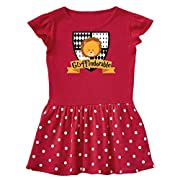 inktastic - Gryffindorable Crest Infant Dress 12 Months Red and Polka Dot 28c0c
