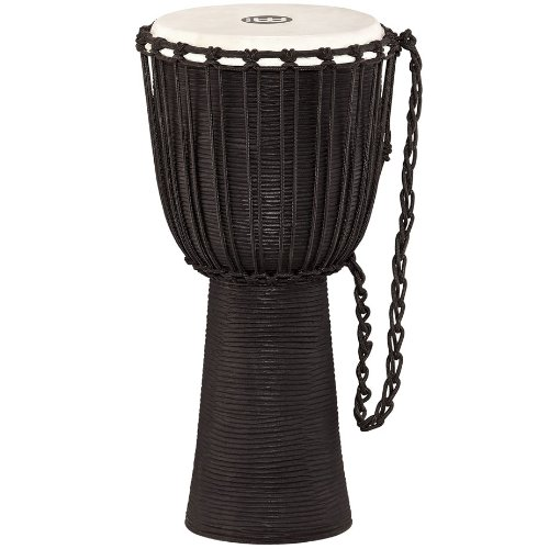 Meinl Percussion HDJ3-L Black River Series Headliner Rope Tuned Djembe, Large: 12-Inch Diameter by Meinl Percussion