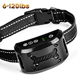 Bark Collar [New Version] Dog No Bark Collar Anti Bark Collar Shock Collars Stop Barking  with Sound/Vibration/No Harm Shock,Rechargeable and Rainproof Anti Bark Control for Small Medium and Large Dog Review