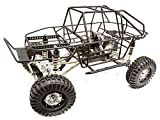 Integy RC Model Hop-ups C25799BLACK Billet Machined 1 10 RCT1.9 Roll Cage Type Trail Racer 4WD Scale Crawler ARTR