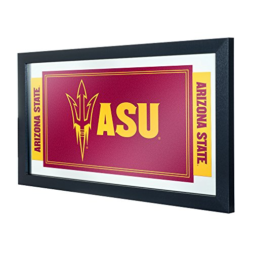 (NCAA Arizona State University Framed Logo Mirror)