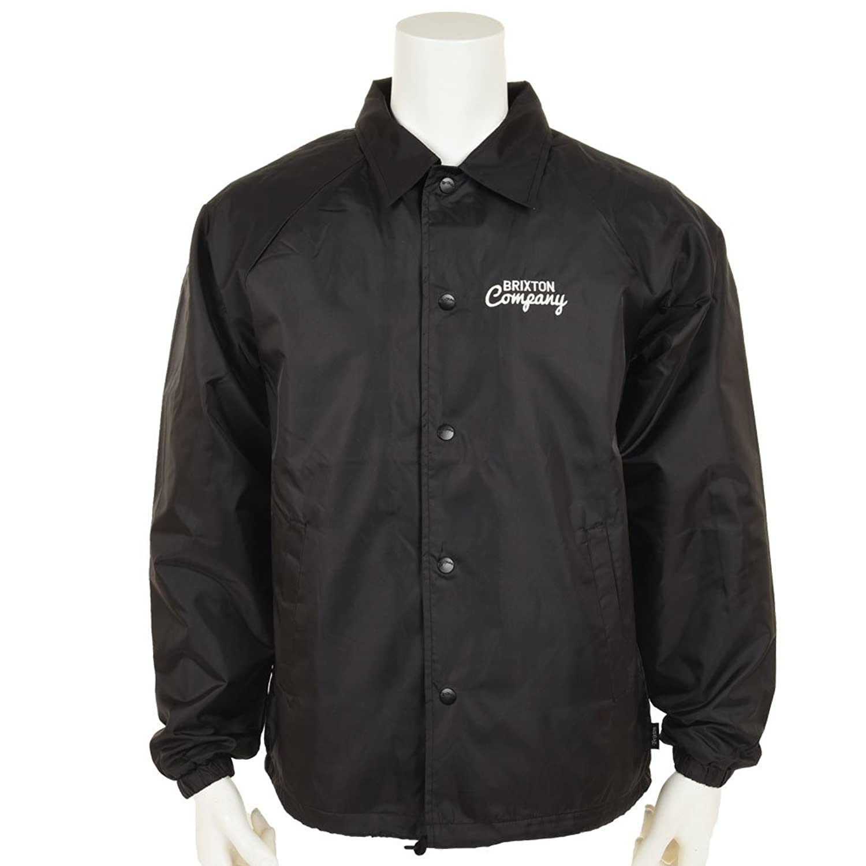 Brixton Ditmar Windbreaker Jacket - Black
