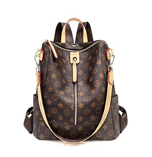 souple la 12 à dos 5 sac à cuir femmes décontracté multifonctionnel 29 des Sac PU main 31cm de en sac mode pxU5qwpvf