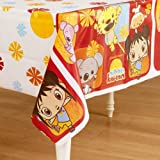 Amscan Adorable Ni Hao Kai Lan Party Table Cover (1 Piece), Red, 54 x 96""