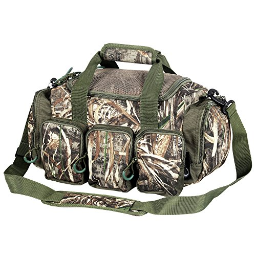 Timber Ridge 15-inch Camo Catch All Gears Deluxe Blind Duffel Duffle Bag (Style-B) (Gear Hunting Bag)