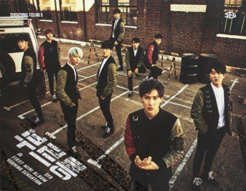 CD : Sf9 - Burning Sensation (Asia - Import)