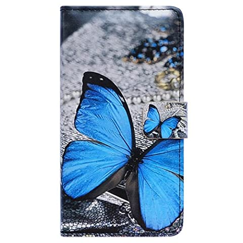 Bfun Packing Beautiful Butterfly Wallet Leather Cover Case for Samsung Galaxy Note 3 N9000 (Galaxy 3 Phone Cases Flip Cover)