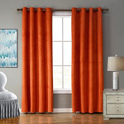 Compare Price To Burnt Orange Panel Curtains Tragerlaw Biz