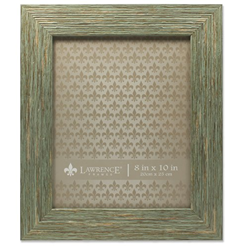 Lawrence Frames Deep Grain Weathered Decorative Picture Frame, 8 x 10