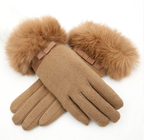 Makarine-Womens-Winter-Cashmere-Full-Finger-Gloves-Cute-Touch-screen-Gloves-Mitts-Christmas-Xmas-Gift-for-Girlfriend-Wife-Lover-Mother-5-Colors