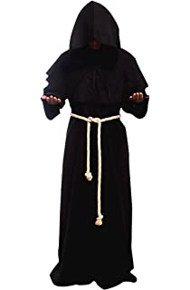 Amazon.com  Museum Replicas Monk s Robe Black  Sports   Outdoors 3daed188f