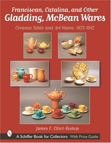Franciscan, Catalina, and Other Gladding, McBean Wares: Ceramic Table and Art Wares: 1873-1942