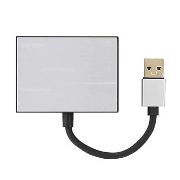 ASHATA Lector de Tarjetas USB 3.0, Lector de Tarjetas de ...