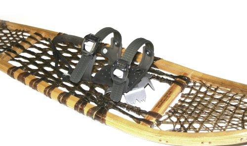 Vintage Mens Snowboard Boots - GV Snowshoes Asymmetrical Snowshoe Bindings, Large