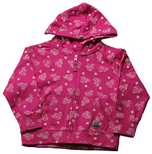 Hoody Case (Case IH Toddler Knit Zip-Front Hoodie, Magenta, Size 3T)