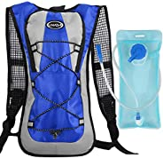 Andoer Mochila de hidratação esportiva ao ar livre para acampamento, caminhada, escalada, corrida, mochila, mo