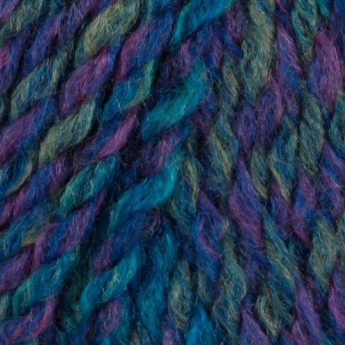 Lion Brand Tweed Stripes Yarn (205) Caribbean