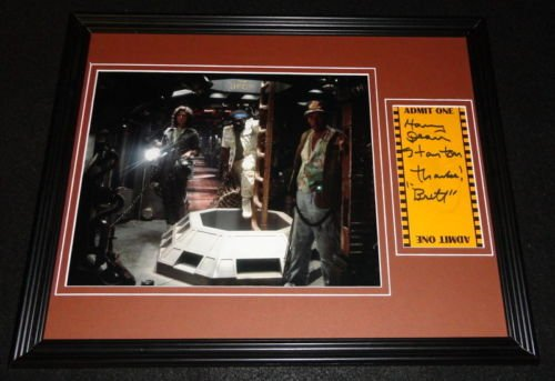 Harry Dean Stanton Signed Framed 11x14 Photo Display Alien Brett Inscription