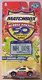 Matchbox Across America 50th Birthday Series New Hampshire Camaro Police