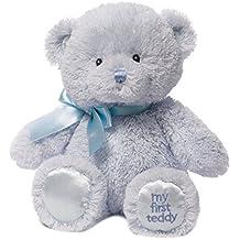 """Baby GUND My First Teddy Bear Stuffed Animal Plush, Blue, 10"""""""