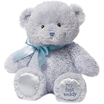 Amazon Com Baby Gund My First Teddy Bear Stuffed Animal Plush