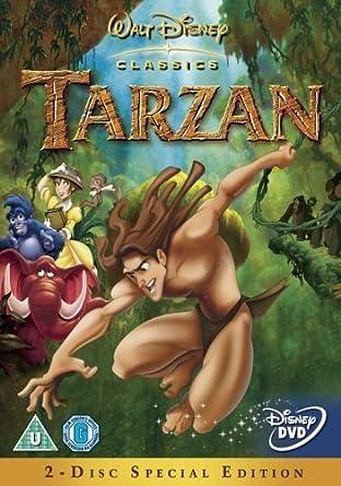 Amazon Com Tarzan Dvd 1999 Tony Goldwyn Minnie Driver Brian Blessed Chris Buck Kevin Lima Tony Goldwyn Minnie Driver Bonnie Arnold Movies Tv