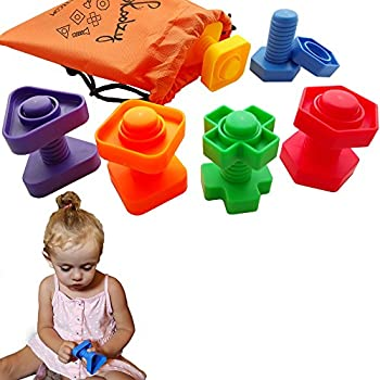 Amazon skoolzy preschool large lacing beads for kids 30 toys building construction set 12 pc occupational therapy tools matching fine motor skills for toddlers boys girls learning activities ebook fandeluxe Images