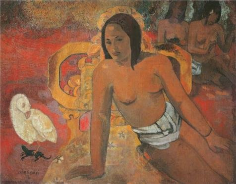 The High Quality Polyster Canvas Of Oil Painting 'paul Gauguin Vairumati' ,size: 8x10 Inch / 20x26 Cm ,this Best Price Art Decorative Prints On Canvas Is Fit For Bar Gallery Art And Home Decoration And Gifts