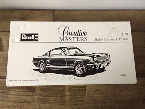 Coa Masters (Revell Creative Masters Shelby Mustang GT-350H Black Gold 1:20 scale With COA)