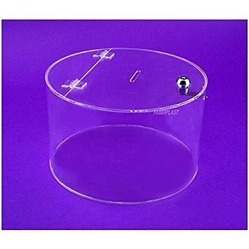 Faberplast FB1008 - Hucha, color transparente: Amazon.es: Oficina y papelería