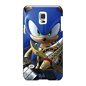 Scratch Protection Hard Cell-phone Case For Samsung Galaxy S5 Mini With Allow Personal Design Colorful Sonic 3d Hd Image AshleySimms