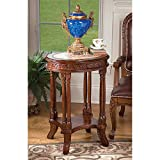Design Toscano Balfour Inlaid Marble Colonnade End Table Review