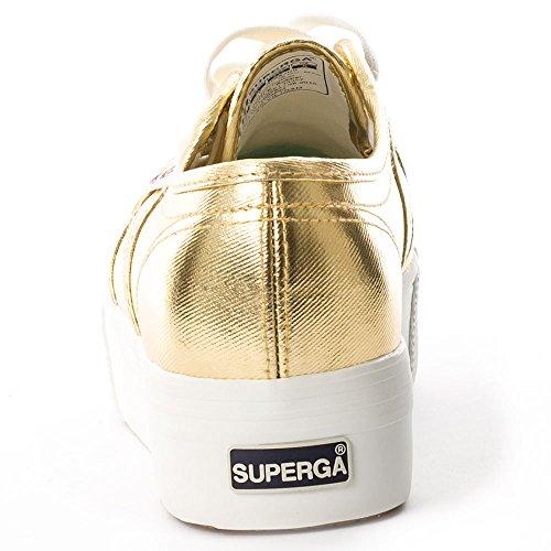 Superga 2790 COTMETW - Zapatillas Mujer Gold
