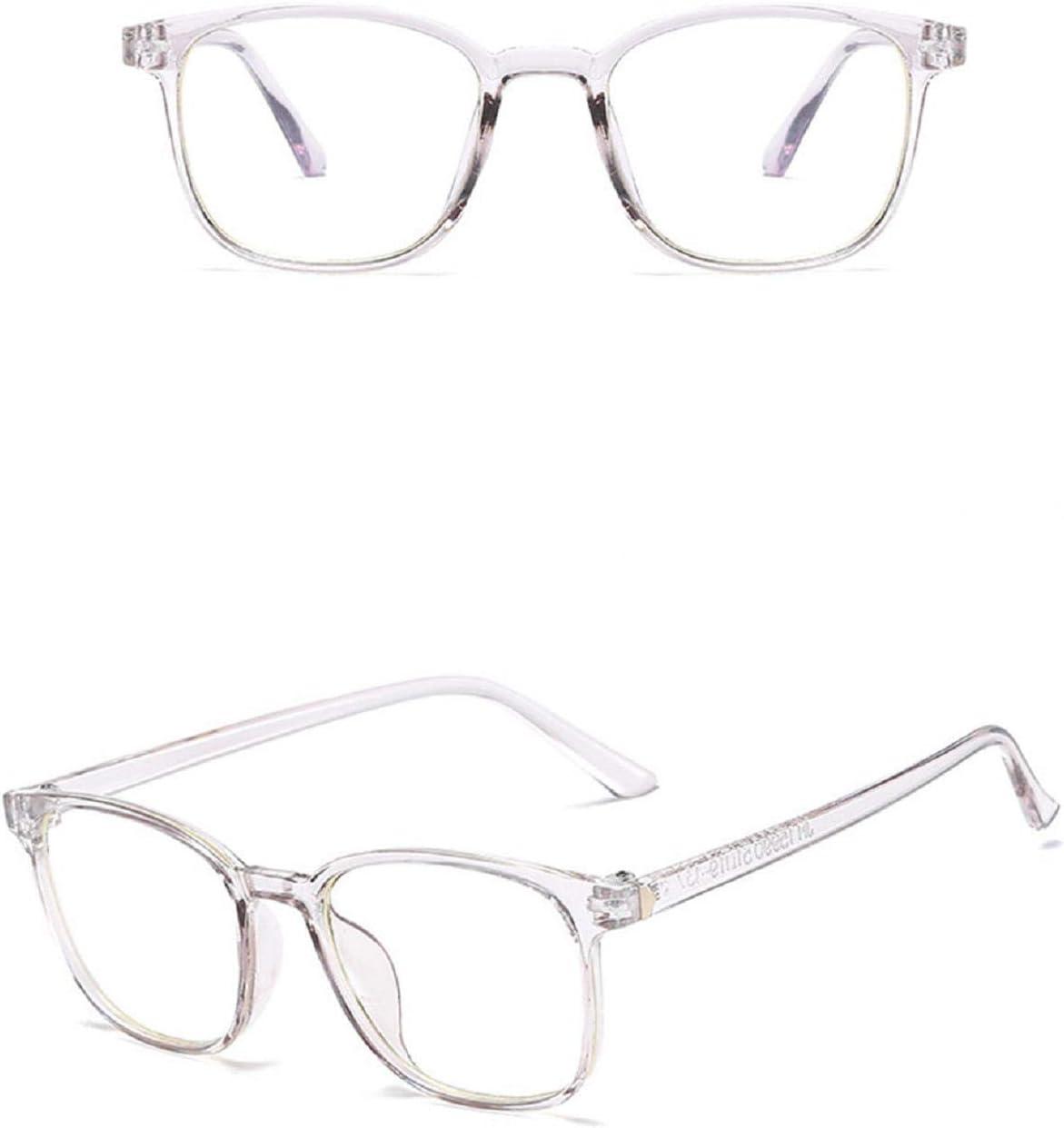 Koojawind/Occhiali da Vista a Luce Blu Occhiali da Vista a Nerd Quadrati Occhiali da Vista Anti Blu a Raggio Stile Designer Donn Uomini Unisex Leggere Leggerezza a Prova di Occhi Anti-Fatica