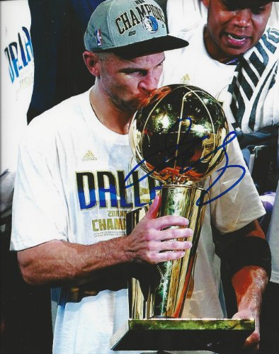 Autographed Jason Kidd Dallas Mavericks 8x10 Photow/COA - Jason Kidd Merchandise