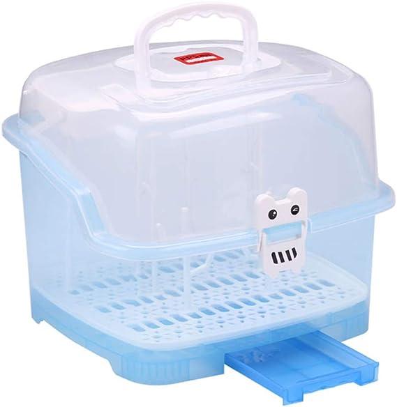 no t/óxicos sin plomo El estante de secado de biberones Weitamei puede contener todos los biberones y accesorios de alimentaci/ón Materiales de grado alimenticio